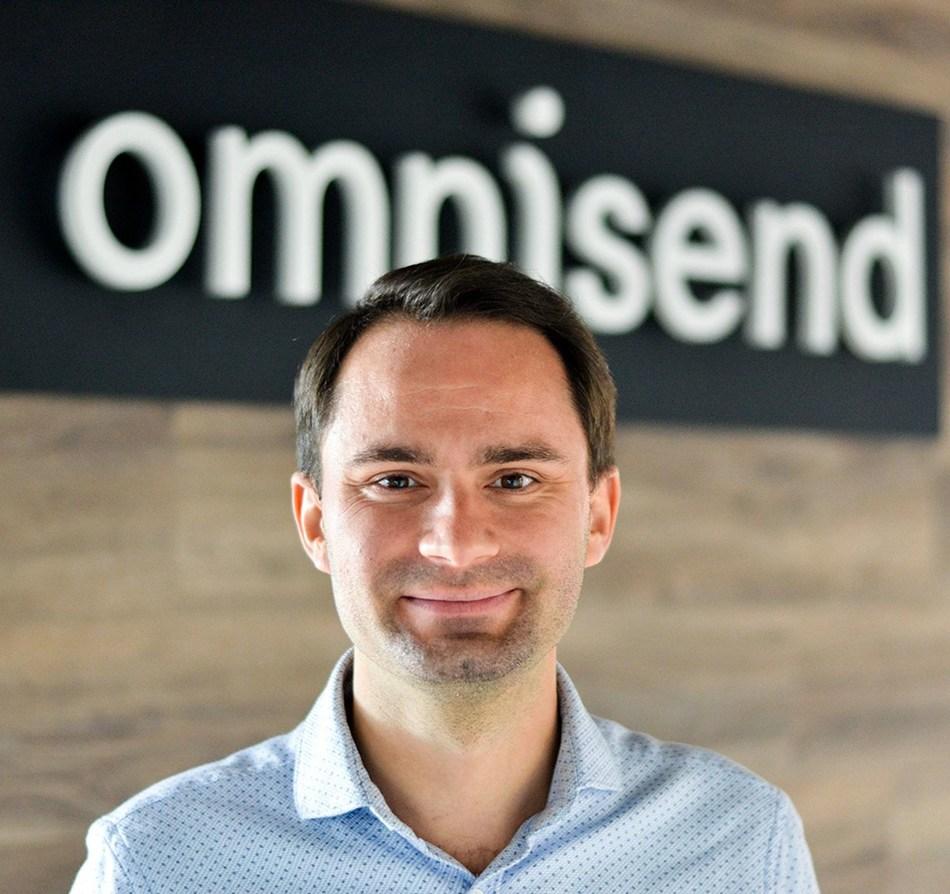 Omnisend CEO Rytis Lauris. (PRNewsfoto/Omnisend)