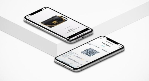 THE LIST is the first luxury fashion mobile platform globally offering cryptocurrency payment. Via THE LIST App customers can shop unique luxury products and pay directly with Bitcoins and shortly with over 20 additional cryptocurrencies. (PRNewsfoto/THE LIST)