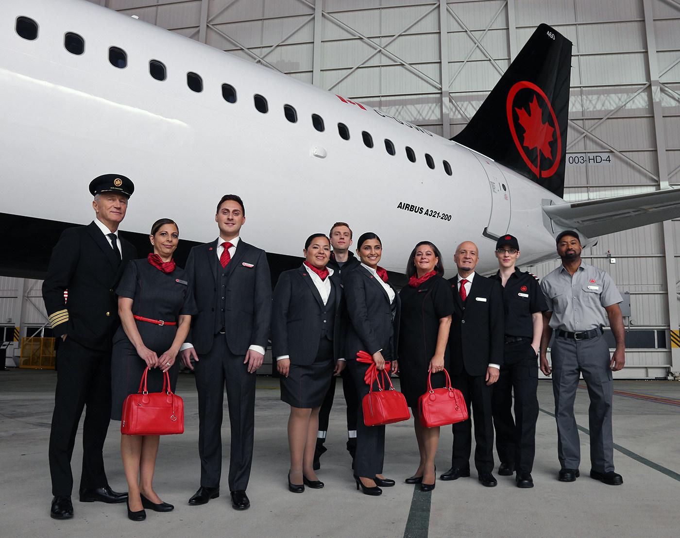 Air Canada est nommée parmi les meilleurs employeurs de Montréal pour la sixième année de suite (Groupe CNW/Air Canada)
