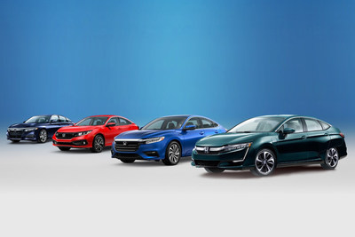 Honda Finishes 2018 as the Retail #1 Passenger Car Brand for the First Time