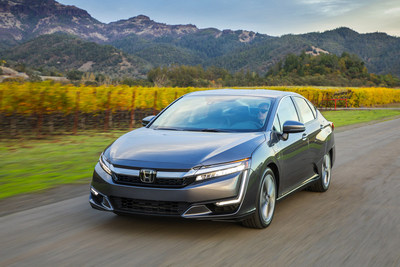 "Honda Clarity Series Wins 2019 MotorWeek ""Drivers' Choice Award"" for Best Eco-Friendly Vehicle"