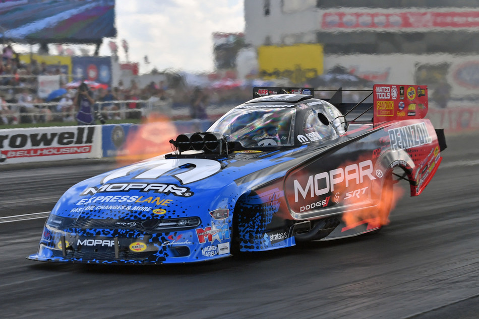 Dodge//SRT and Mopar announced today a partnership with Pennzoil to pump up participation in the National Hot Rod Association (NHRA), doubling their number of event title sponsorships for the 2019 season.