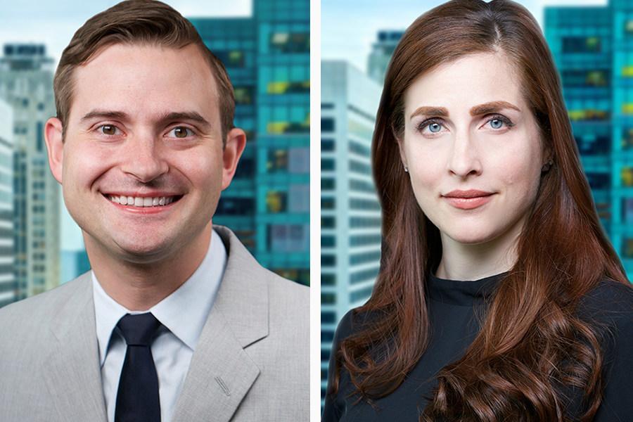 Art Law Partners Paul Cossu and Megan Noh