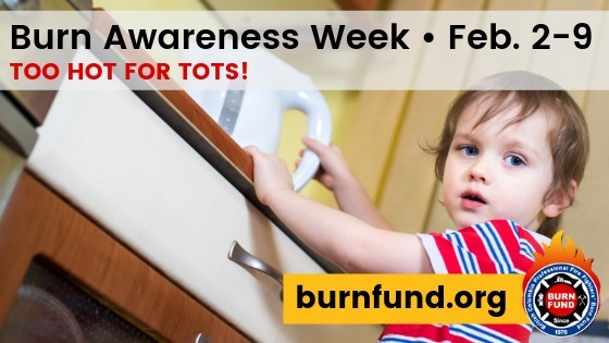 Too Hot for Tots! Burn and Scald Prevention program for parents and caregivers of children from birth to age 5 years. (CNW Group/British Columbia Professional Fire Fighters Burn Fund)