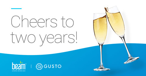 Beam Dental and Gusto celebrate two years of partnership, bringing a best-in-class employee benefits experience to small groups.