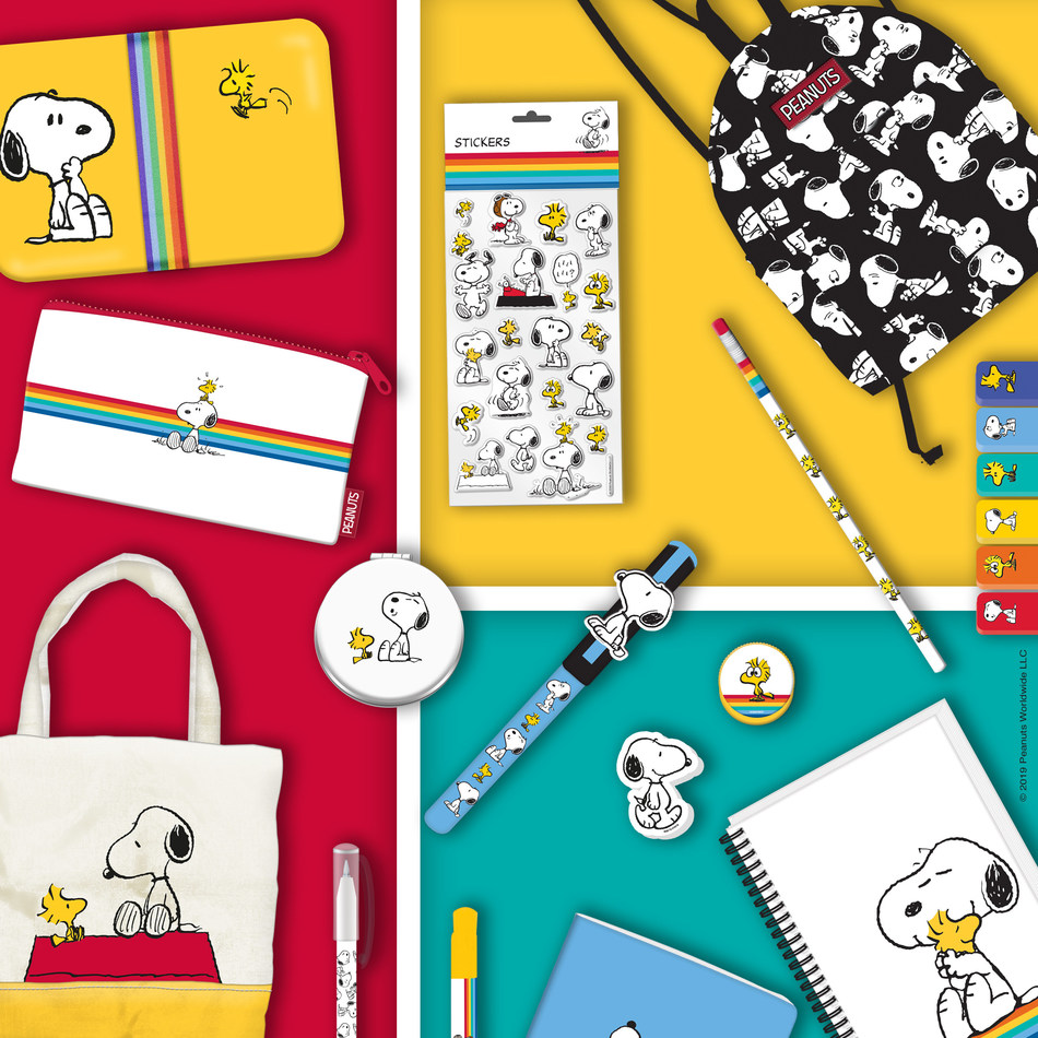 CPLG have brokered a number of new deals for Snoopy and the Peanuts gang in the UK, across a range of consumer products categories, as Peanuts gears up to celebrate its 70th anniversary in 2020. (CNW Group/DHX Media Ltd.)