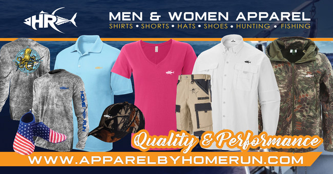 Variety of Apparel By Home Run