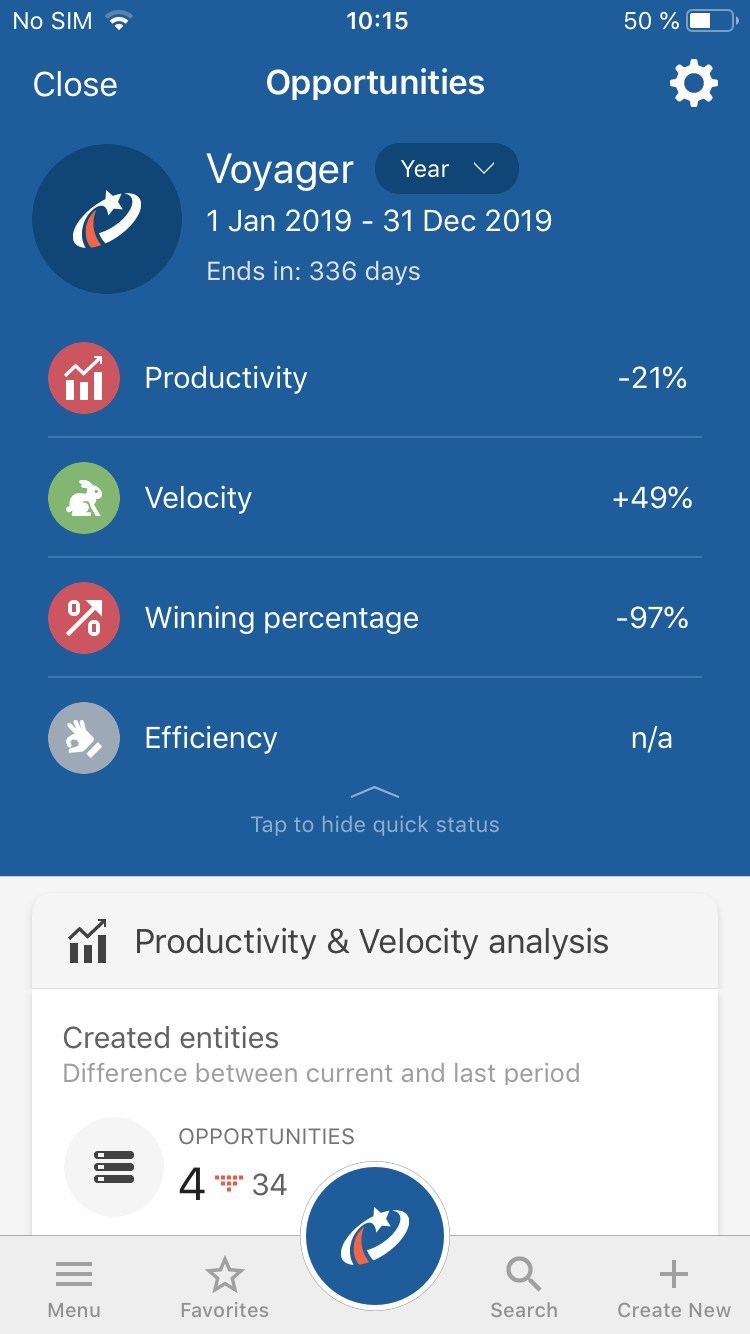 Sales AI on Pipeliner Mobile CRM