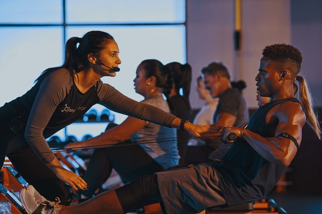 In 2018, Orangetheory Fitness crossed the threshold to surpass $1 billion in systemwide sales. In just eight years after opening its first studio, the brand known for its science-backed, technology tracked, coach inspired workout has rapidly expanded to more than 1,100 studios in 49 U.S. states and 22 countries, with 500+ studios in its development pipeline.