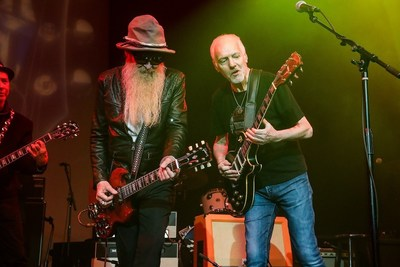 Billy Gibbons and Peter Frampton perform at Gibson Namm Jam 2019.
