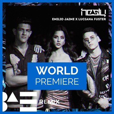 "World premiere of music video ""B.A.E. Remix"" by Nesty in collaboration with Emilio Jaime and Luciana Fuster exclusively on LAMUSICA APP and LAMUSICA.COM (PRNewsfoto/Spanish Broadcasting System, In)"