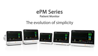 The ePM Series, Mindray's new mid-acuity patient monitor.