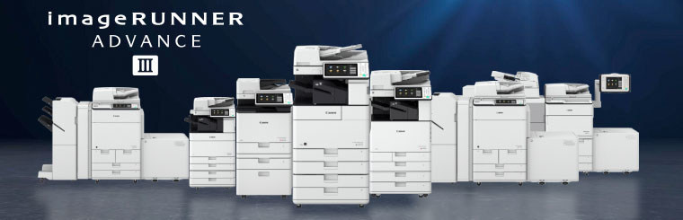 Canon Third Generation imageRUNNER ADVANCE Third Edition Product Family
