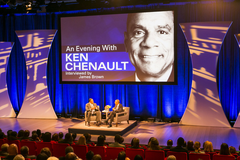 """CBS sportscaster and NFL network host James """"J.B."""" Brown sits down for a one-on-one interview with one of America's most successful CEOs – Ken Chenault."""