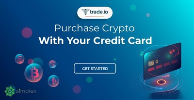 Consumers can purchase BTC and other cryptocurencies with their debit or credit card.