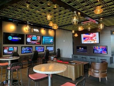 TCL Lounge at Topgolf Las Vegas