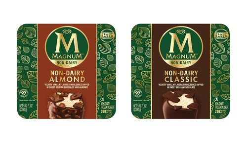 Magnum Ice Cream Launches First-Ever Non-Dairy, Vegan- Certified Bars with New Magnum Non-Dairy in the U.S.