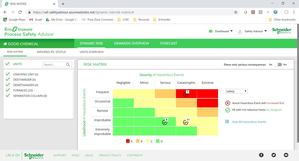 Real-time measures for real-time profitability control, safely. (CNW Group/Schneider Electric Canada Inc.)
