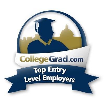 Logo for the Top Entry Level Employers at CollegeGradcom