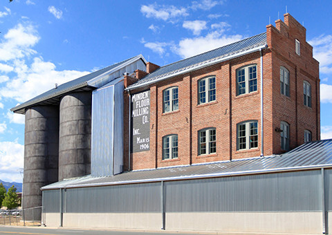 Historic Minden Flour Mill, now the Bently Heritage Estate Distillery