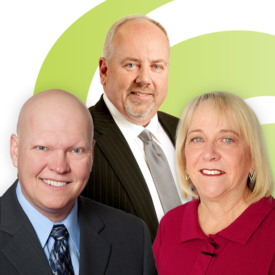 Baker Tilly KDN's Mark Mooney, Ian Bergin and Sharron Wharram-Spry (CNW Group/Baker Tilly Canada Cooperative)