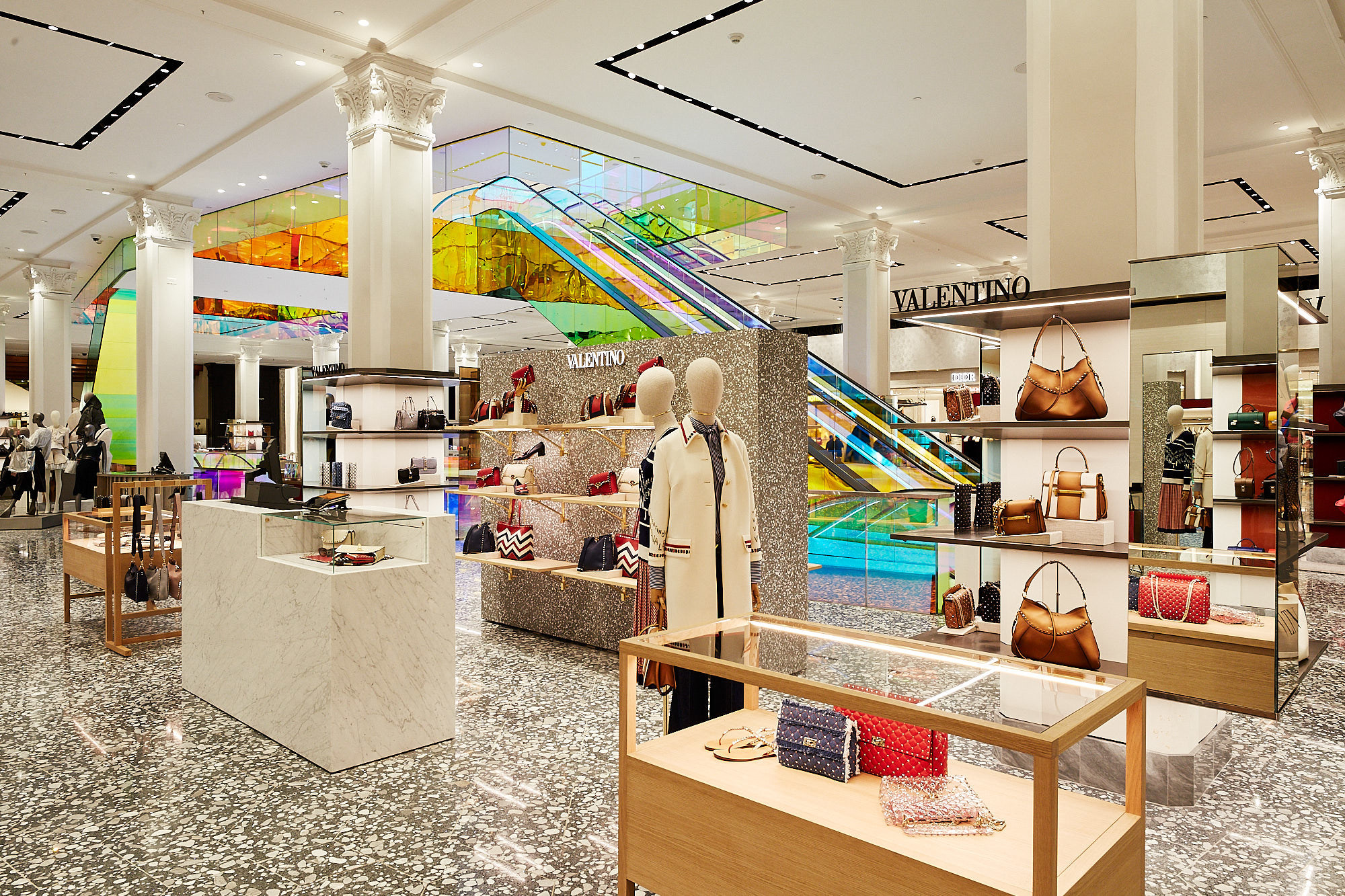 a7749d0a403 Saks Fifth Avenue Unveils New Main Floor, Latest Phase Of New York ...
