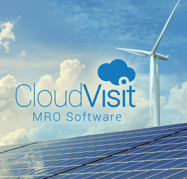 CloudVisit energy software enables remote inspection of wind turbines, solar panels and hybrid systems