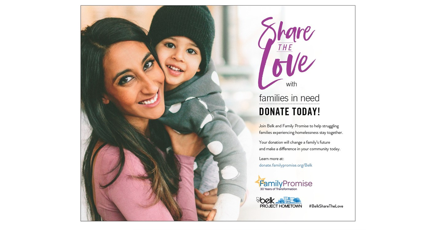 Belk Shares The Love With $1 Million Donation To Family ...