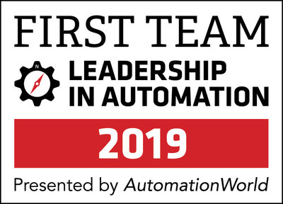 First Team Leadership in Automation Award