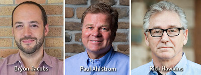Leading Austin entrepreneurs announced as R&D Breakthrough Summit Speakers: (from left) Bryon Jacobs, CTO & Co-Founder, Data.World; Paul Ahlstrom, Managing Director, Alta Global Ventures; and Rick Hawkins, Co-Founder and Chairman, Aether Therapeutics.