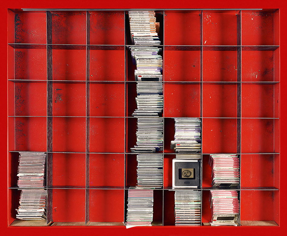 Canada 2: Remnants (from the series Red Tool Box: The Canadian Collection – a series that depicts slides stored in the drawers of a jerry-rigged Canadian Tire tool box), 2017, 81 cm (H) x 100 cm (W), Collection: Lerners LLP law, by Susan Dobson (Guelph, Ontario) (CNW Group/Scotiabank)