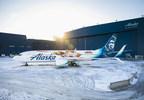 Alaska Airlines unveils special-edition Captain Marvel plane