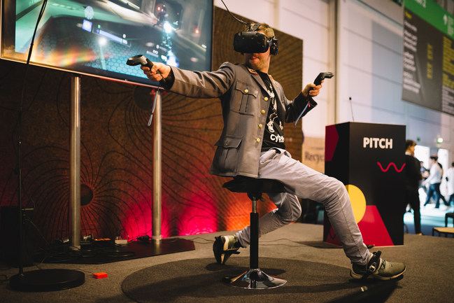 The Cybershoes are compatible with any VR game, and function with SteamVR, the HTC Vive, Oculus Rift, Windows Mixed Reality, and Pimax. After an extremely successful CES 2019 appearance, Cybershoes GmbH has launched an Indiegogo campaign, (https://www.indiegogo.com/projects/cybershoes-a-step-into-virtual-reality-games--3#/ ), to continue to build awareness among consumers and potential investors.