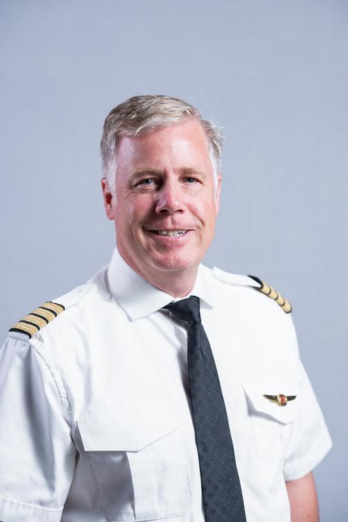 Le commandant Mike McKay, président élu du CEN de l'APAC (Groupe CNW/Air Canada Pilots Association)
