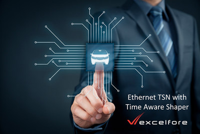 Excelfore provides Ethernet AVB/TSN protocol stacks for automotive networking applications. The newest feature, a workingTime Aware Shaper, will be demonstrated and presented at the Automotive Ethernet Congress in Munich, February 13 - 14, 2019.