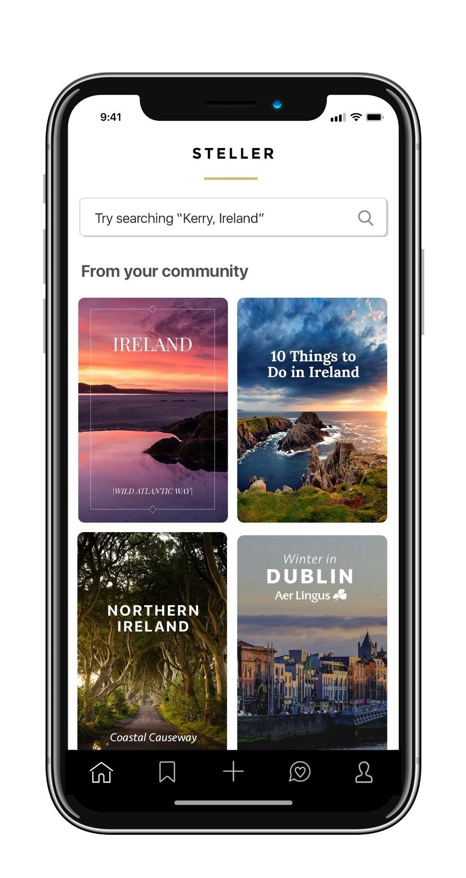 Promoting Tourism Ireland on Steller.co