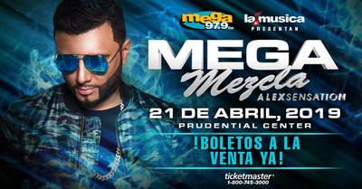 "LAMUSICA APP, MEGA 97.9FM ANNOUNCES ANUEL AA AT THE ""MEGAMEZCLA - ALEX SENSATION"" AT PRUDENTIAL CENTER ON APRIL 21ST, 2019"