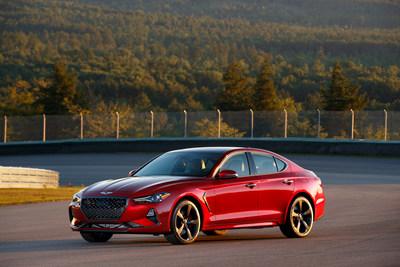 """Genesis G70 luxury sport sedan named by Cars.com as the """"Best of 2019."""""""