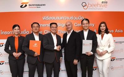 泰纳昌银行同意与全球金融科技公司Beehive亚洲建立新的合作关系