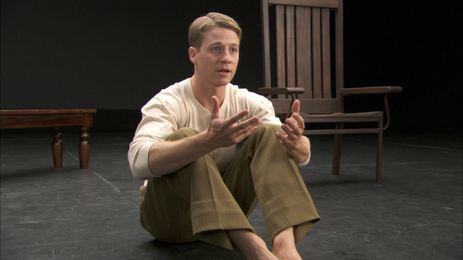 "Ben McKenzie stars in a film version of the Off-Broadway monologue ""Johnny Got His Gun"" by playwright Bradley Rand Smith. The filmed play is a theatricalization of Dalton Trumbo's 1939 novel, rather than a remake of the 1971 film. Performed in the same stream of consciousness style as the book, it explores the interplay between science, medicine, religion, and politics."