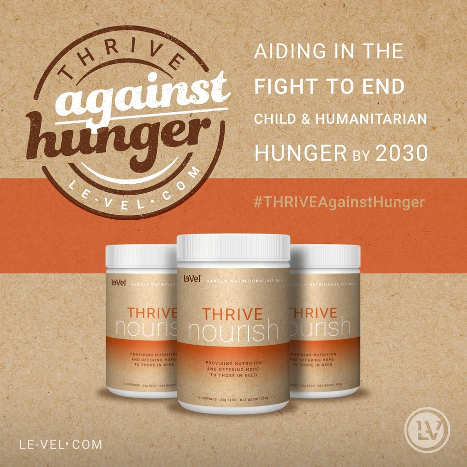 LE-VEL DELIVERS 266,000 MEALS IN ITS FIGHT TO END HUNGER