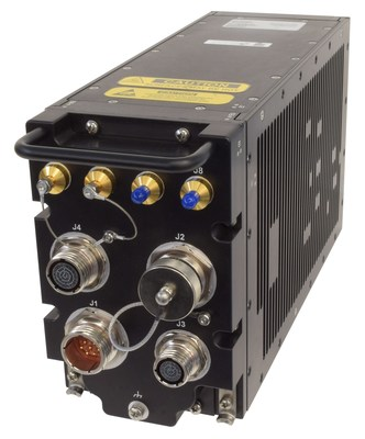 Hughes Defense HM400 is a specialized, software-defined multiband satellite modem to support the General Atomics Aeronautical Systems, Inc. SkyGuardian Remotely Piloted Aircraft.