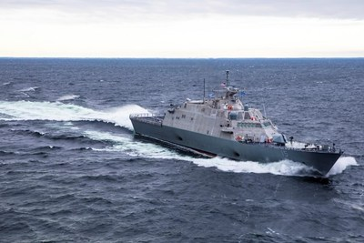The future USS Billings completed Acceptance Trials in Lake Michigan and is now delivered to the U.S. Navy.