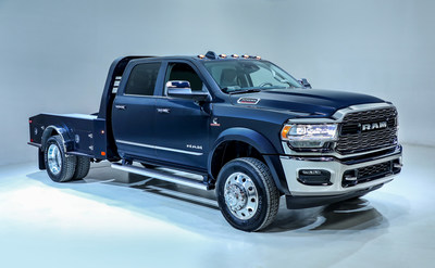 2019 Ram Chassis Cab Brings The Highest Capability Advanced Technology And Comfort To Commercial Work Truck Segment