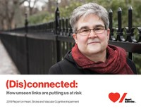 2019 Report on Heart, Stroke and Vascular Cognitive Impairment (CNW Group/Heart and Stroke Foundation)