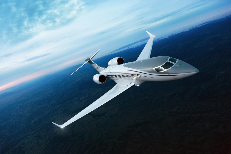 The Gulfstream G500 has a range of 5,200 nautical miles/9,630 kilometers at Mach 0.85, connecting distant cities such as Istanbul to Cape Town, Los Angeles to London, and San Francisco to Tokyo. (file photo)