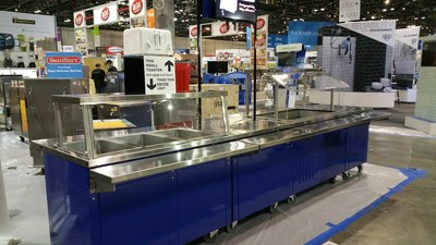 SECOSelect Serving Line at the NAFEM 2019 Show in Orlando, Florida (Booth 3040, February 7-10), www.secoselect.com