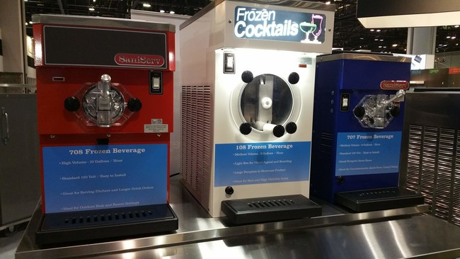 SaniServ Ice Cream, Yogurt and and Frozen Beverage Machines at the NAFEM 2019 Show in Orlando, Florida (Booth 3040, February 7-10), www.saniserv.com