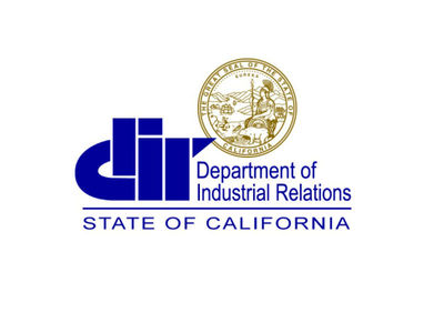 State of California Department of Industrial Relations (PRNewsfoto/Department of Industrial Relatio)