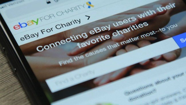 eBay sets record-breaking year on charity platform with nearly $102 million raised for non-profits in 2018